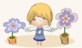 Poco ángel Foto de archivo libre de regalías