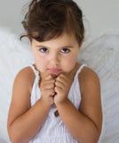 Poco angelo Fotografia Stock