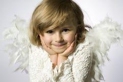 Poco angelo Immagini Stock