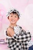 Poco angelo cinese fotografie stock