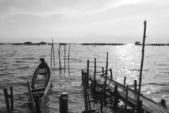 Poco barco para el pescador 2 Imagenes de archivo