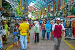 Poco bazar Kuala Lumpur Malaysia de la India fotos de archivo libres de regalías