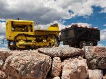 Poco bulldozer che potrebbe fotografia stock