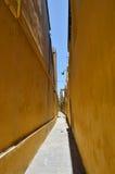 Poco callejón en Hoian 4 Fotografía de archivo libre de regalías