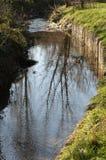 Poco canal del agua Fotografía de archivo libre de regalías