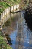 Poco canal del agua Foto de archivo