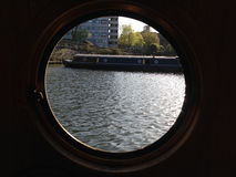 Poco canale di Venezia fotografia stock libera da diritti