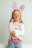 Poco coniglietto di pasqua Fotografia Stock Libera da Diritti