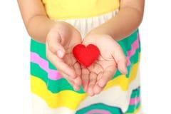 Poco corazón Fotografía de archivo
