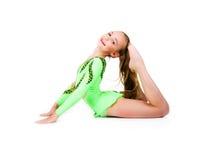 Poco danzatore di balletto isolato Immagini Stock Libere da Diritti