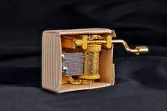 Poco di Music Box Immagini Stock Libere da Diritti