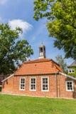 Poco edificio di Pingelhus nel centro storico di Aurich Fotografie Stock Libere da Diritti