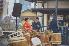 Poco evento de la música del Año Nuevo de Tokio Fotografía de archivo libre de regalías