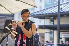 Poco evento de la música del Año Nuevo de Tokio Fotografía de archivo