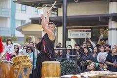 Poco evento de la música del Año Nuevo de Tokio Imagenes de archivo