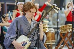 Poco evento de la música del Año Nuevo de Tokio Foto de archivo libre de regalías