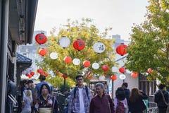 Poco evento del Año Nuevo de Tokio Fotos de archivo libres de regalías