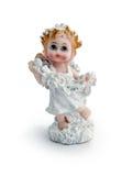 Poco figurine di angelo Fotografia Stock