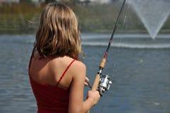 Poco fishergirl Fotografie Stock
