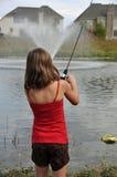 Poco fishergirl 4 Immagini Stock