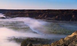 Poco fiume di Missouri Fotografia Stock
