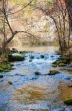 Poco flusso nel Missouri fotografie stock