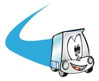 Poco furgone Immagine Stock