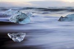 Poco ghiacciaio Fotografia Stock Libera da Diritti