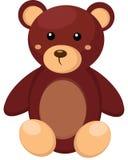 Poco giocattolo dell'orso di orsacchiotto Immagini Stock