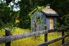 Poco granaio in Napa Valley Fotografia Stock Libera da Diritti