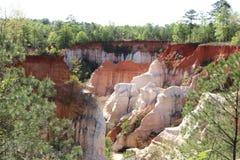 Poco Grand Canyon en Georgia fotos de archivo