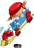 Poco hockey Foto de archivo