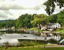 Poco lago di York Fotografia Stock