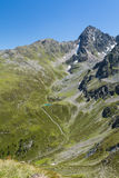 Poco lago mountain in Austria Fotografia Stock
