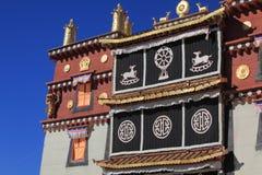Poco Lamasery del palacio Potala Fotografía de archivo libre de regalías
