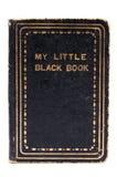 Poco libro nero Fotografie Stock