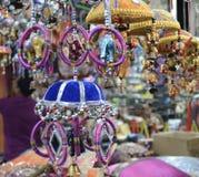 Poco mercato del mestiere dell'India a Singapore Fotografia Stock