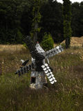 Poco molino de viento Foto de archivo libre de regalías