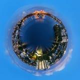 Poco mondo di Brisbane Immagine Stock