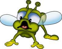 Poco mosca verde Imagenes de archivo