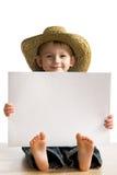Poco muchacho de la diversión imagen de archivo libre de regalías