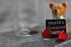 Poco orso dell'orsacchiotto Fotografie Stock Libere da Diritti