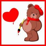 Poco oso del peluche Ilustración del Vector