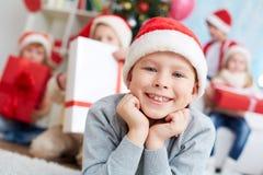 Poco Papá Noel Fotografía de archivo libre de regalías
