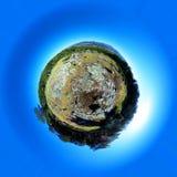 Poco planeta Medio principal del soporte Comunidad del ` s de Madrid españa Fotos de archivo