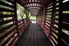 Poco ponte rosso Fotografia Stock
