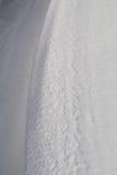 Poco primo piano della neve Fotografie Stock