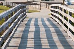 Poco puente de madera Fotografía de archivo