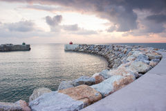 Poco puerto italiano Fotos de archivo
