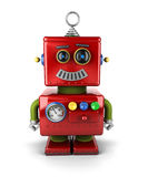 Poco robot Fotografie Stock Libere da Diritti
